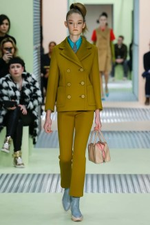 Prada green for winter 2016